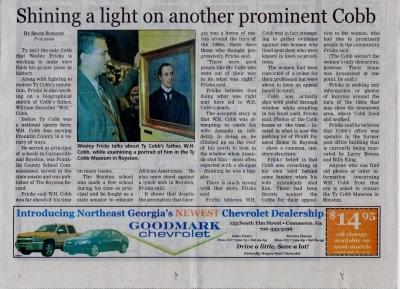 July 12, 2012 Franklin County Citizen Leader (Lavonia, Ga.)