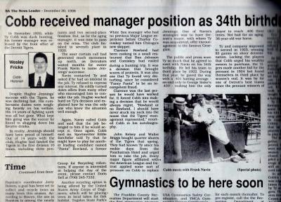 December 30, 1998 The News Leader (Royston, Ga.)