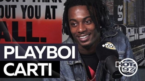 Check Out Playboicarti's Interview On Hot97!