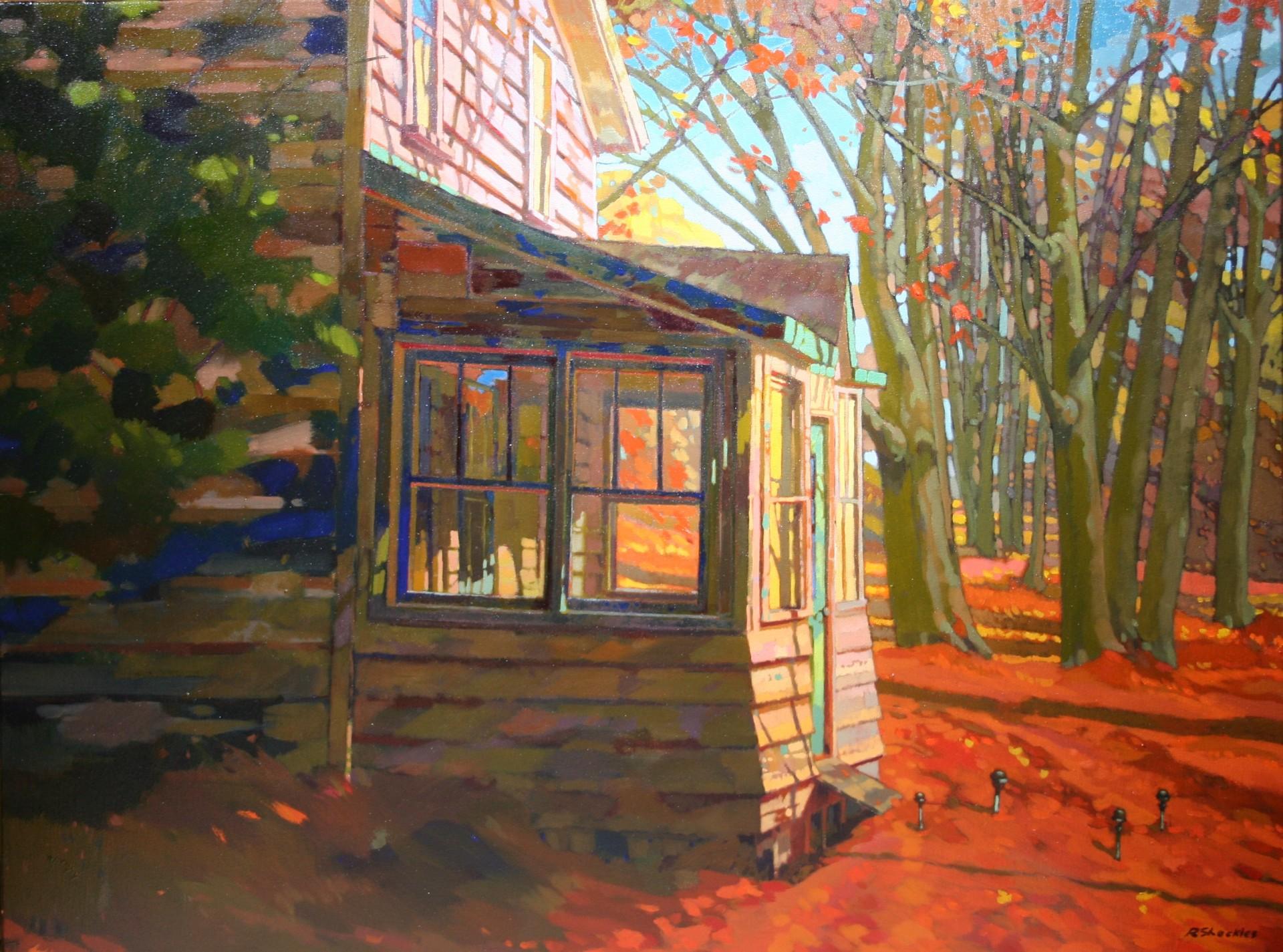 Autum Front Porch