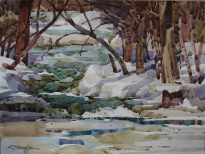 Lemon Creek in Winter