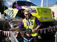 MonsterJam, Nic Granlund, moster truck, professional driver, Europe, Helsinki, Stockholm