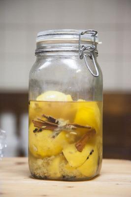 fermenteren, gezond eten, gepekelde citroen