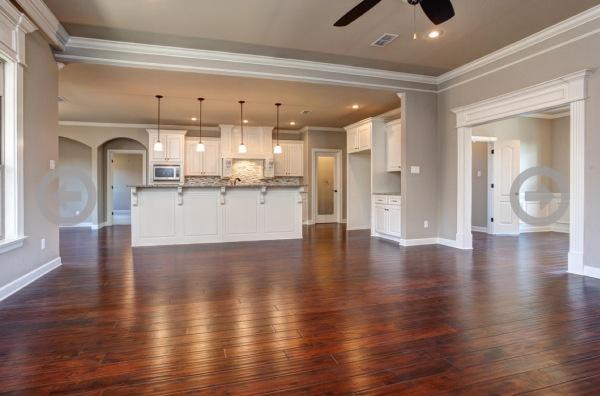Stillwater Home Living Room/Kitchen