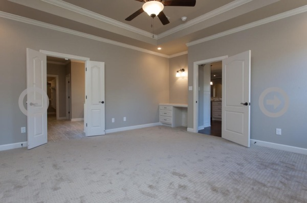 Stillwater Home Master bedroom