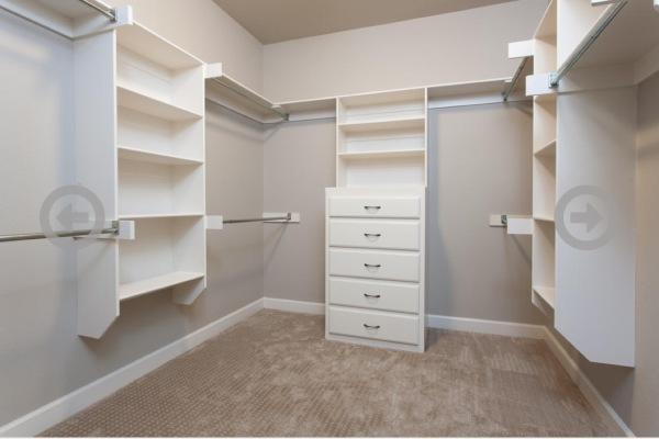 Stillwater Home Master Closet