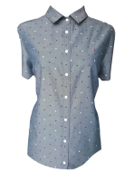 TH Blue Dots Blouse