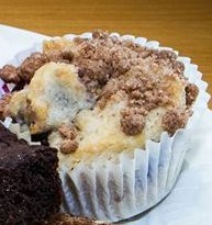 Blueberry Muffin - V $2.50  GF V - $3