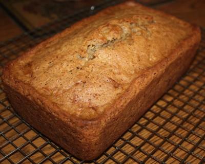 Zucchini Bread V - $7  GF V - $8.50