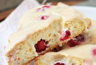 Orange Cranberry Scone - V $2.50 GF V $3
