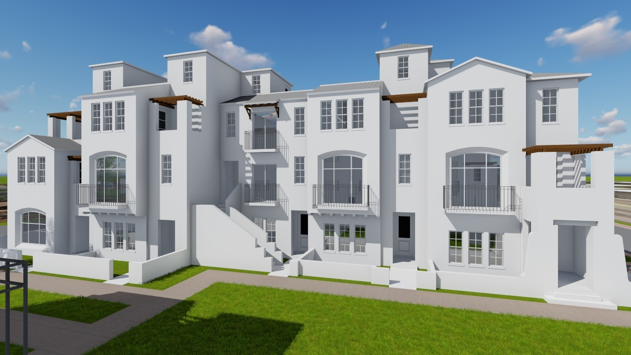 Towering Townhomes