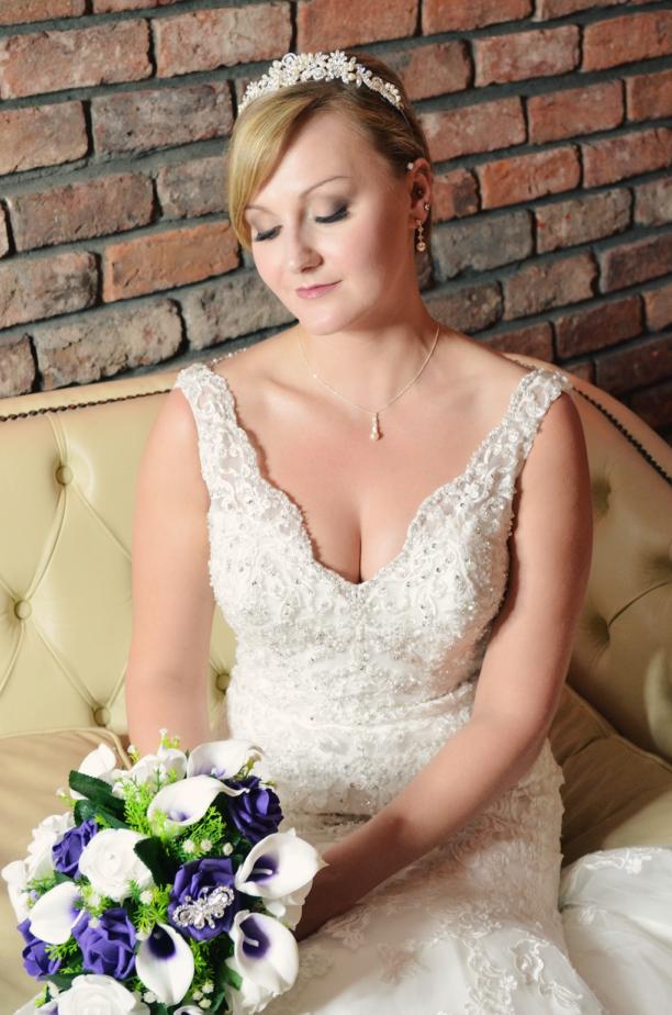 Bridal wedding makeup - Edinburgh makeup artist