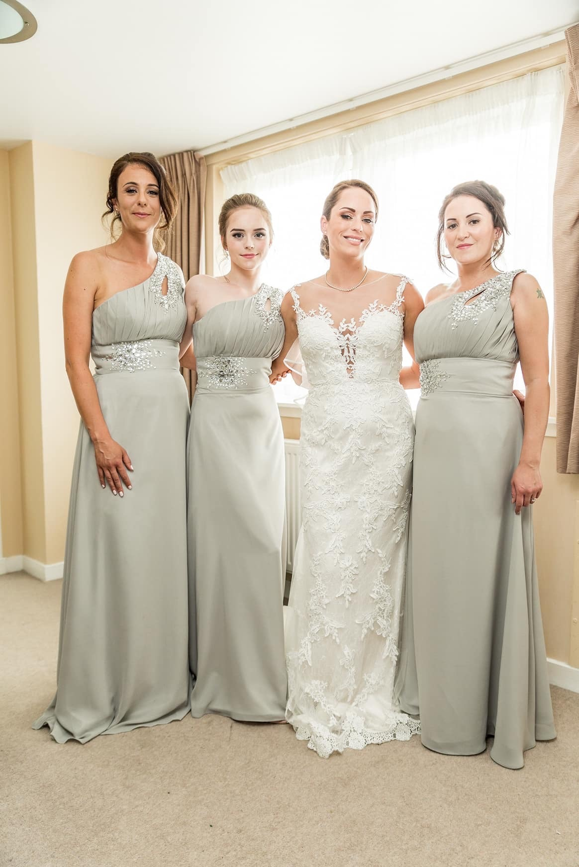 Catrina and her bridal party