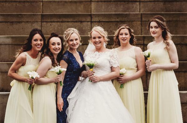 Bridal makeup in Edinburgh.  natural makeup