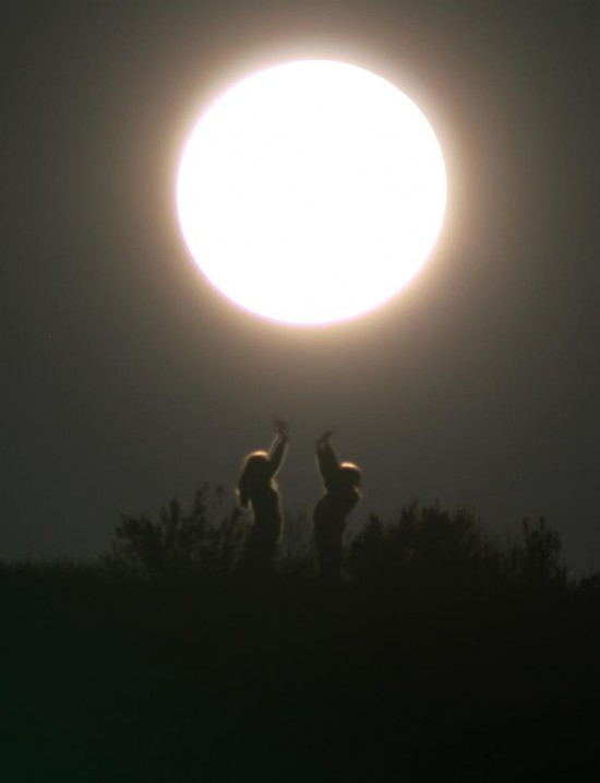 Rare Super Moon: Time to let out the old and accept the new ready for 2017.