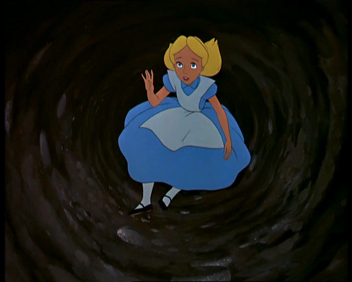 Falling down a rabbit hole