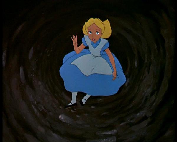 Falling down a rabbit hole