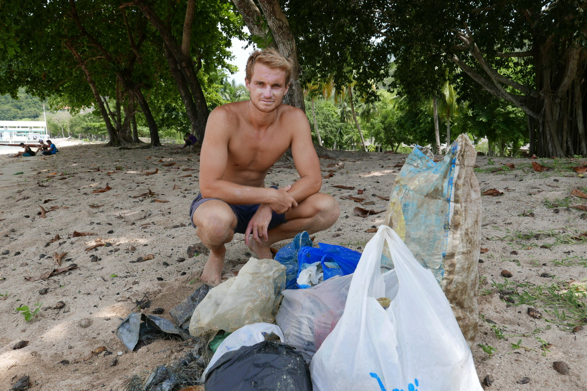 Beach Clean Up in Komodo National Park