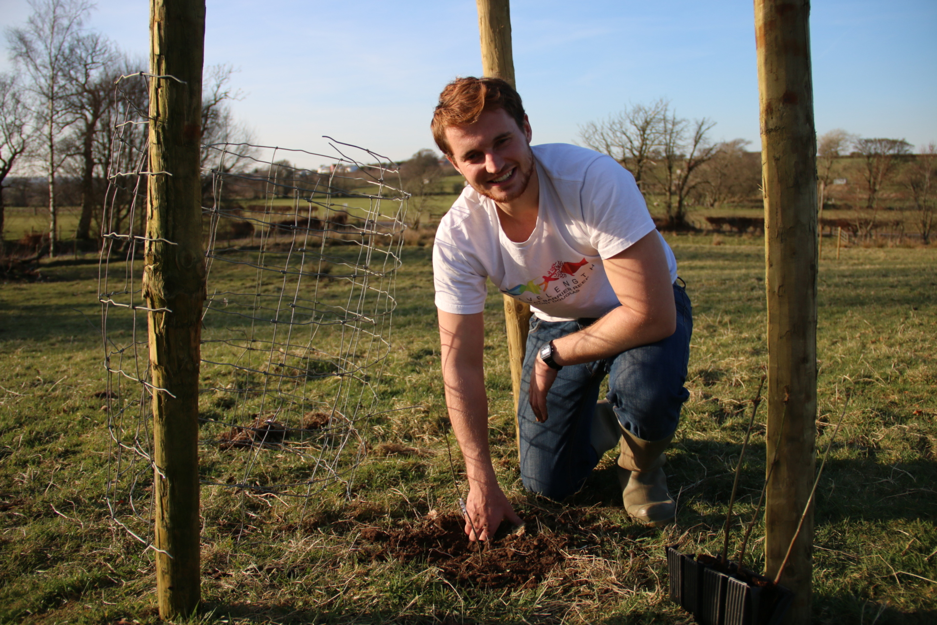 Tree Planting at Windhill Nature Reserve