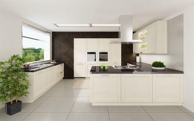 Modern-kitchen-material – pine veneered mdf (horizontal grain)