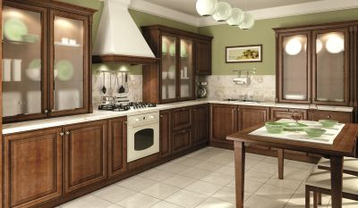 Classic-kitchen-material – solid wood - alder