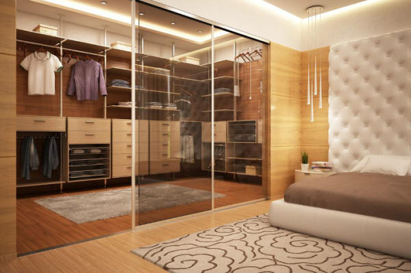walk in robe with sliding doors,bedroom interior, wardrobe ,fitted, bespoke wardrobe, prestige walk in robe