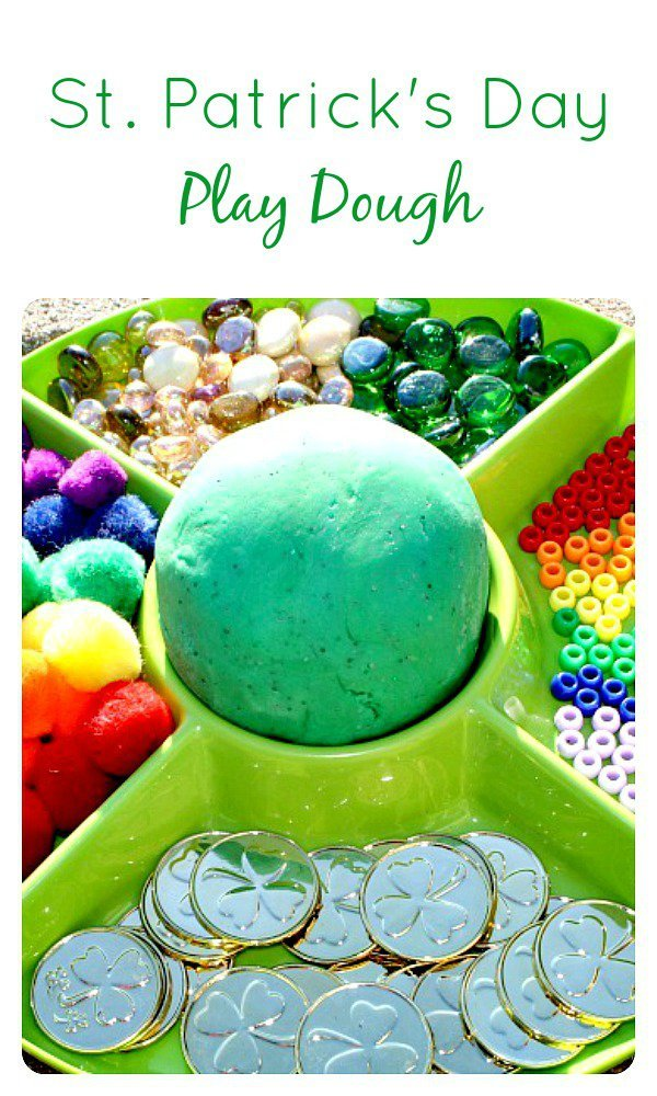 St.-Patricks-Day-Play-Dough-for-Kids