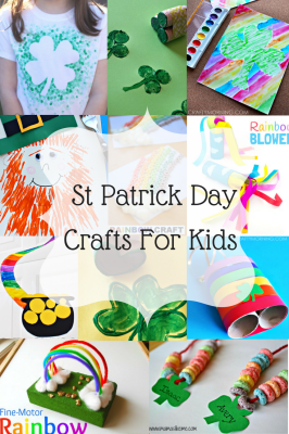 16 St. Patrick Day Crafts for Kids