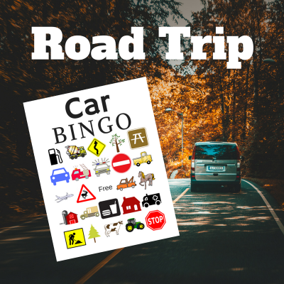 Car Bingo Printables