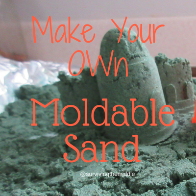 Make Your Own Moldable Sand