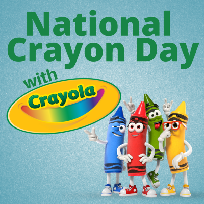 National Crayon Day 2017