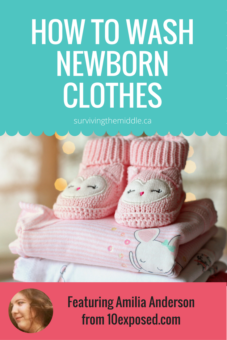 How To Wash Newborn Clothes