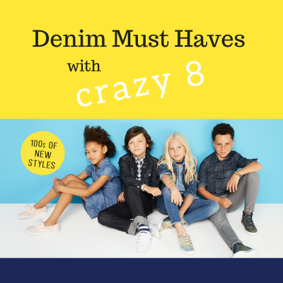 Denim Must Haves with Crazy 8