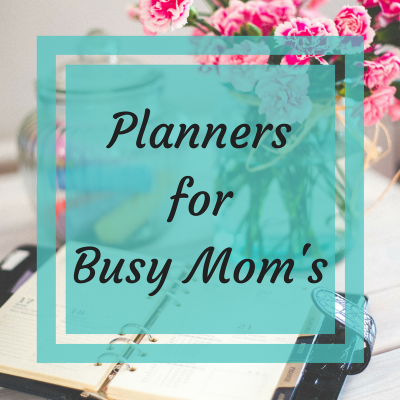 Planners for Busy Moms