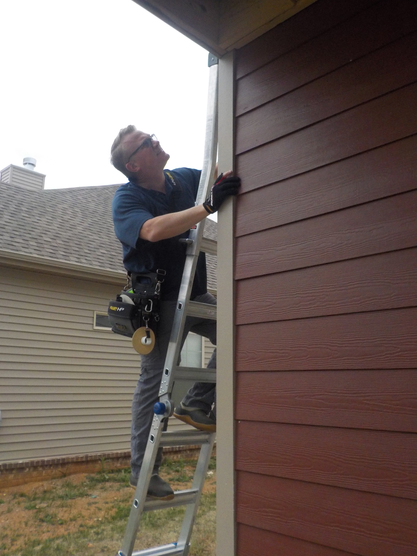 Siding inspection