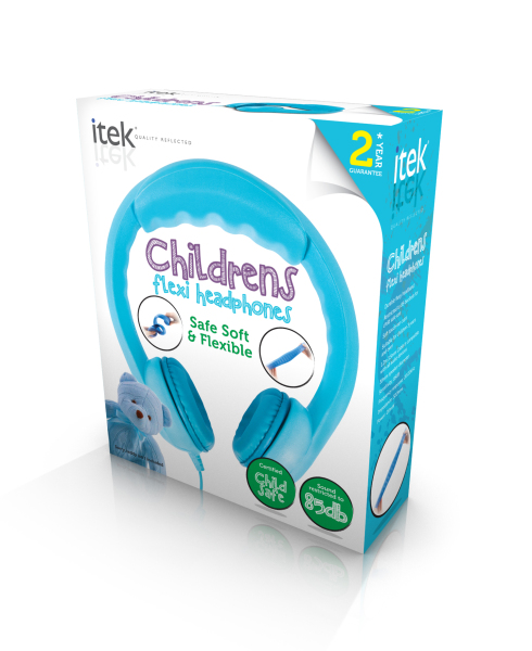 iTek Flex Earphones Blue
