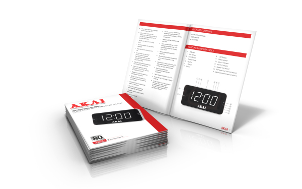 AKAI Clock Radio Manual