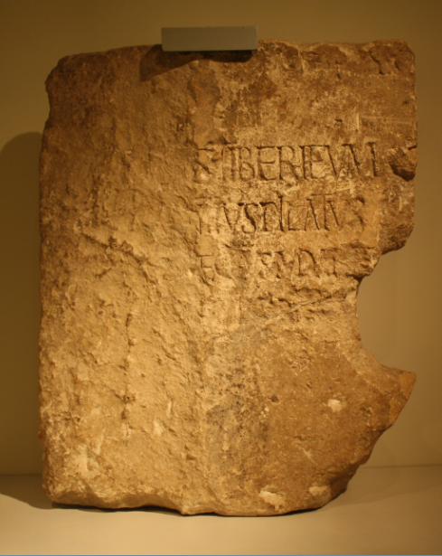 REASON 50 - PONTIUS PILATE INSCRIPTION