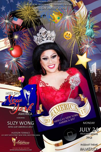 Miss Gay New York America 2017