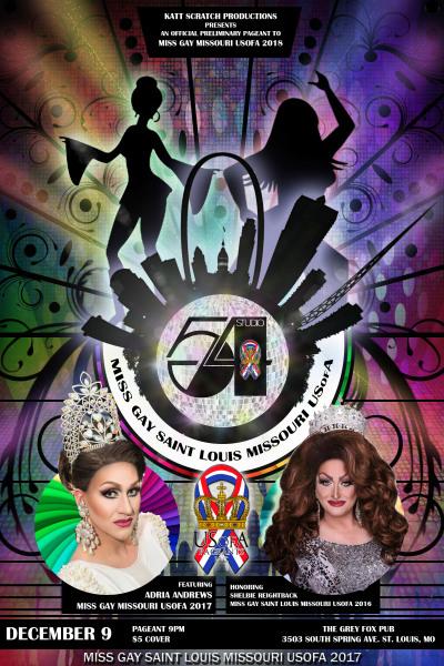 Miss Gay Saint Louis Missouri USofA 2018