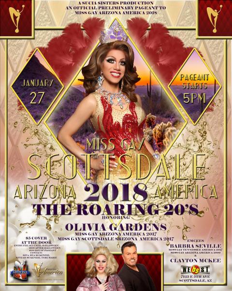 Miss Gay Scottsdale Arizona America 2018