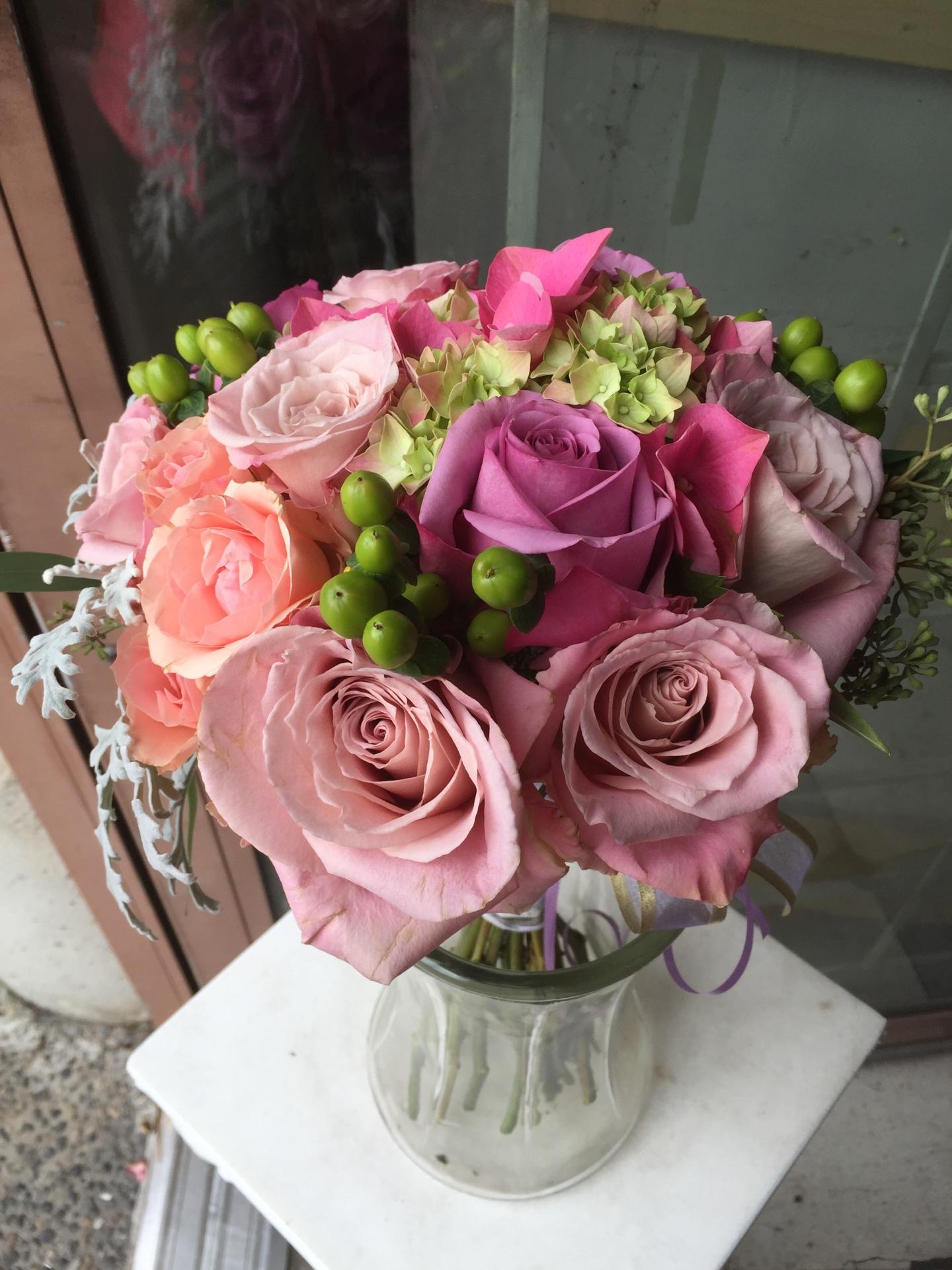 Deep Emotions Rose Bouquet