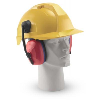Helmet Slotted Earmuff