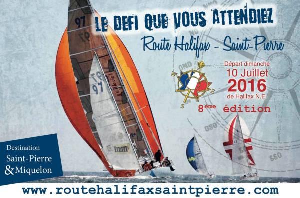 Café de la route course Halifax St Pierre