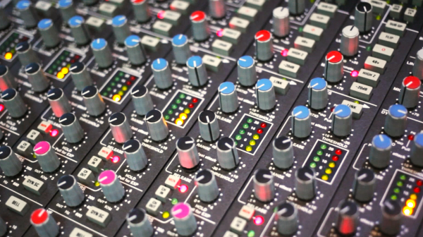 SSL 4000E channels mixage