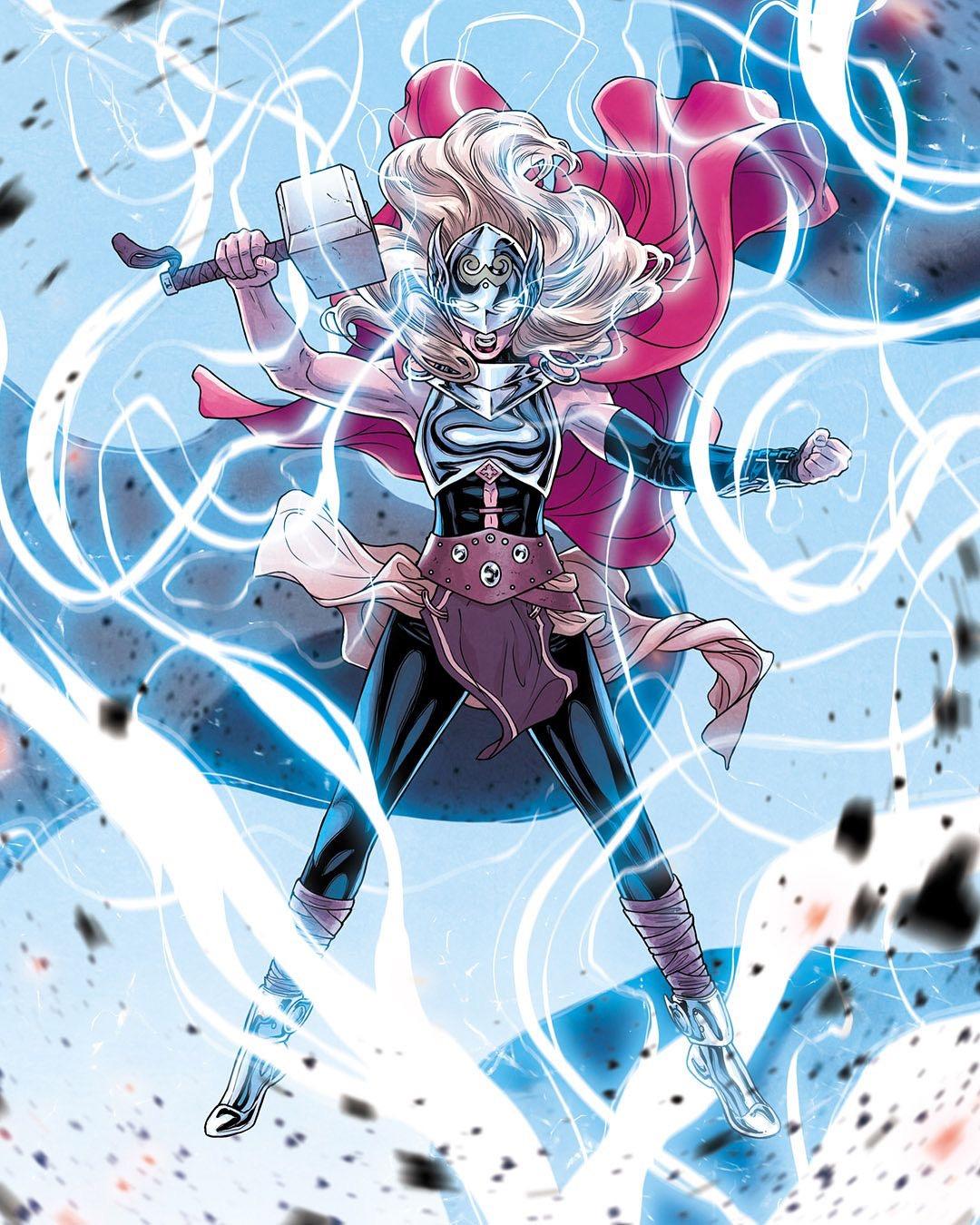 Jane Foster será Mighty Thor en Thor: Love and Thunder