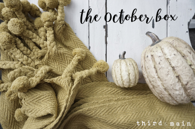 The October Box is shipping today!