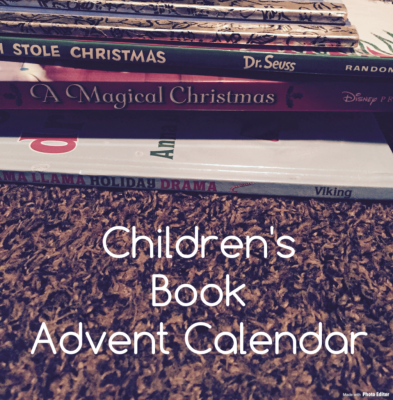 A BOOK Advent Calendar for the Kids!