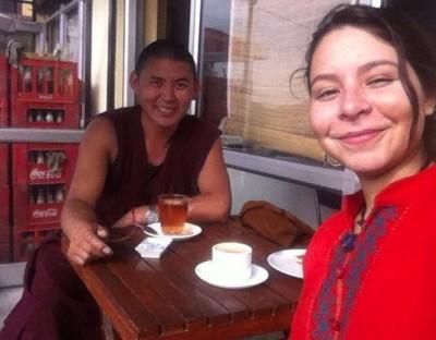 Navidad sin navidad con monjes Tibetanos