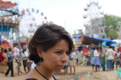 En la feria de Tamil Nadú